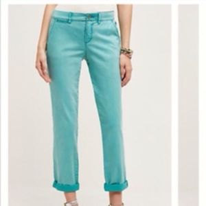 Anthropologie Pilcro Hyphen Chino Pant